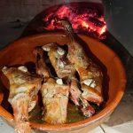 asado horno de leña